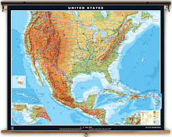 Large Map Of Usa by Klett Perthes Extra Large United States And Mexico Map 77