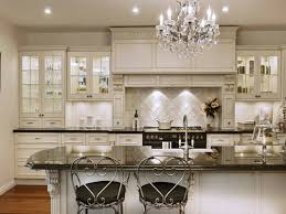 brilliant white kitchen chandelier antique kitchen island french