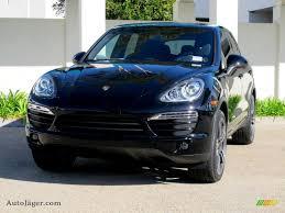 Porsche Cayenne Black - 2012 porsche cayenne in black a05317 auto jäger german cars