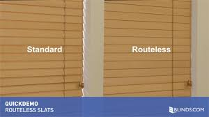 routless option for wood and faux wood blinds quickdemo u0026raquo