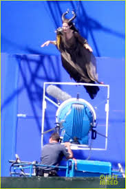 angelina jolie maleficent stunt work 02