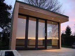 modern cabin home plan by washington architects brachvogel and