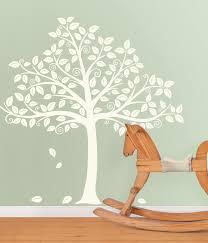 Tree Decal For Nursery Wall by Fall Wall Art U2013 Poptalk