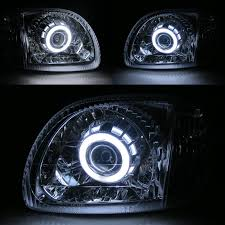 nissan micra headlight assembly march micra k11 1998 2003 ccfl angel eye xenon hid projector