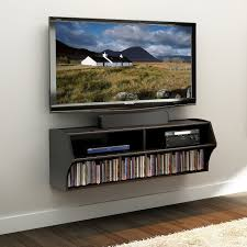 interesting home wall mount tv cabinet idea feature wall mounted