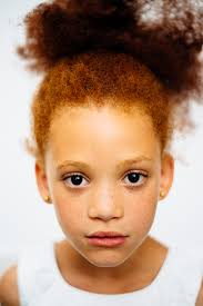 yes mixed race people can have red hair too and they u0027re