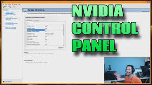 nvidia control panel settings explained how to use manage 3d