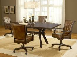 Swivel Dining Room Chairs Dining Room Chairs On Rollers Dining Room Ideas