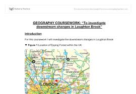 geography coursework tourism Alumni US Read All About it