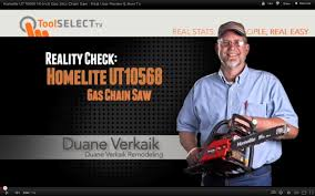 homelite ut10568 16 inch gas 38cc chain saw real user review