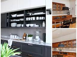 kitchen 1 sleek kitchen with apron sink on free standing