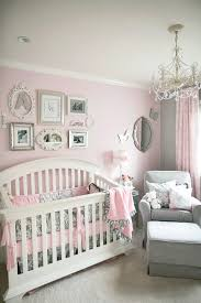 soft and elegant gray and pink nursery gray girls and nursery