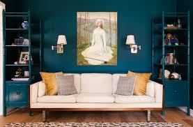 Teal Livingroom by Blue Living Room Ideas