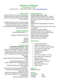 Financial Planner Resume Sample by 10 Banking Resume Template Free Word Pdf Psd