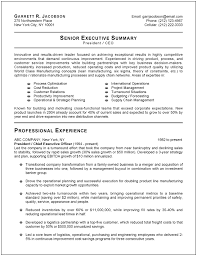 Sample Logistics Resume by Executive Resume Examples 21 Executive Resume Formats And Examples
