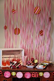 Background Decoration For Birthday Party At Home Home Design Diy Party Background For Or Less Amusing Homemade