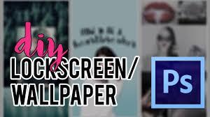 3 diy lockscreen wallpaper fast u0026 easy youtube