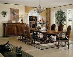 Dining Room Furniture Interior Design Colorado Style Home - Tuscan dining room