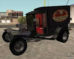 Vintage Ford Ice Cream Truck - ford model t 1923 ice cream truck for gta san andreas