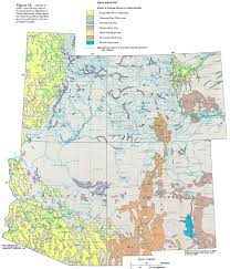 Map Of Utah And Colorado by Ha 730 C Surficial Aquifers