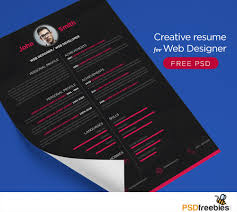graphic artist resume examples graphic designer resume free download free resume example and download free creative resume for web designer psd freebies a resume or cv template which