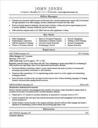 Office Manager Resume Skills  office manager skills resume  office