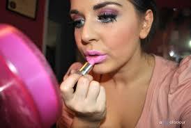 Halloween Barbie Makeup by Think Pink Barbie Halloween Makeup Look A Pop Of Colour
