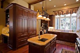 Kitchen Island Lamps Light Wood Kitchen Cabinets Small Kitchen Space Eat In Kitchen