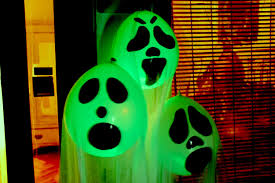 illuminated halloween decorations diy halloween ghost glow balloons yard decorations indoor