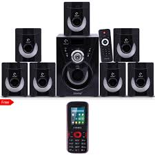 7 1 home theater system i kall tanyo 7 1 speaker system with free mobile phone home