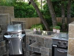 outdoor kitchen island stone veneer bbq island flagstone veneer
