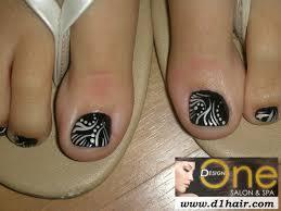 toe nail art black and white nails u0026 polish pinterest toe