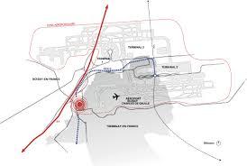 Charles De Gaulle Airport Map Aeroville Philippe Chiambaretta Archdaily