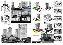 high rise building plans house home designs architectural plan