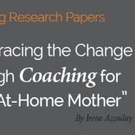 Coaching Model  Divorce  middot  Research paper post Irene Azoulay    x    v  International Coach Academy