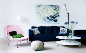 Different Design Styles Home Decor by 21 Different Style To Decorate Home With Blue Velvet Sofa