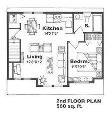 farmhouse style house plan 1 beds 1 baths 500 sq ft plan 116