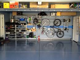 modern elegant garage ideas exterior design home depot modern simple design the garage ideas that has blue granite floor can add beauty inside with iron shelves make seems nice