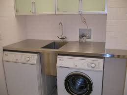Washer Dryer Cabinet Enclosures by Best 25 Laundry Room Sink Ideas On Pinterest Laundry Room