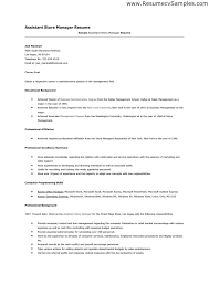 Retail Job Resumes by Example Of Grocery Store Resume Templates