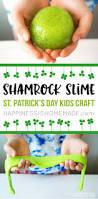 shamrock slime st patrick u0027s day kids craft happiness is homemade