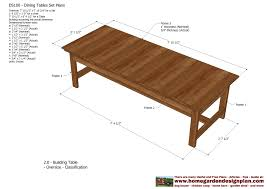 Expandable Dining Room Table Plans Home Garden Plans Ds100 Dining Table Set Plans Woodworking