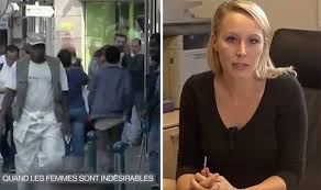 Immigration  French women organise protests to take back streets     Daily Express