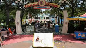 Orlando Universal Studios Map by Curious George Goes To Town At Universal Studios Florida