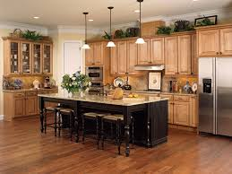 Kitchen Cabinet Top Decor by Simple Chocolate Kitchen Cabinets Decoration Ideas Collection Top