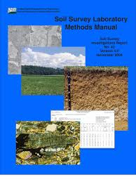 soil survey laboratory methods manual salt chemistry ph