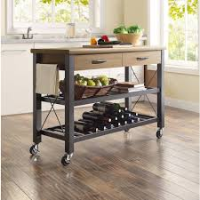 kitchen island stainless steel top stylish furniture home and