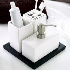 White Bathroom Accessories Set by Bathroom Accessories Set Buy Online Ideas 2017 2018 Pinterest