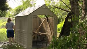 Rubbermaid Garden Tool Storage Shed by Time Lapse Chicken Coop Build Suncast Shed Youtube