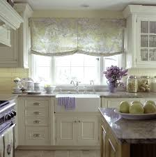 kitchen marvellous cream pattern roll up shades country kitchen